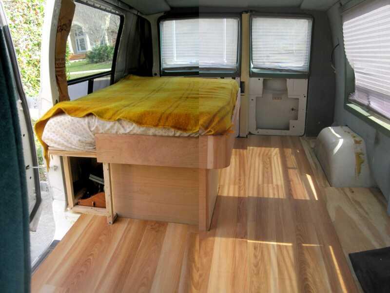 carpet  Cargo Van Conversion