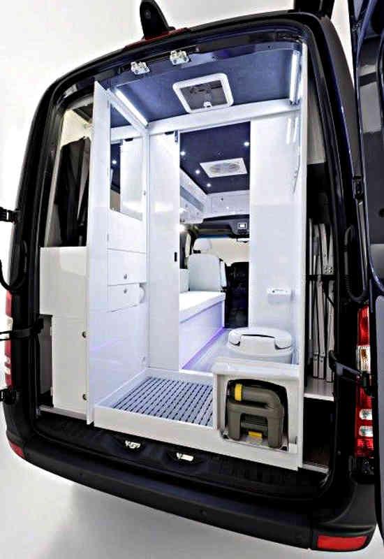 vanbath  Cargo Van Conversion