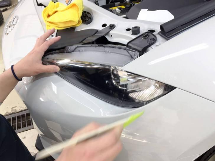 mazda ROADSTER coating headlight