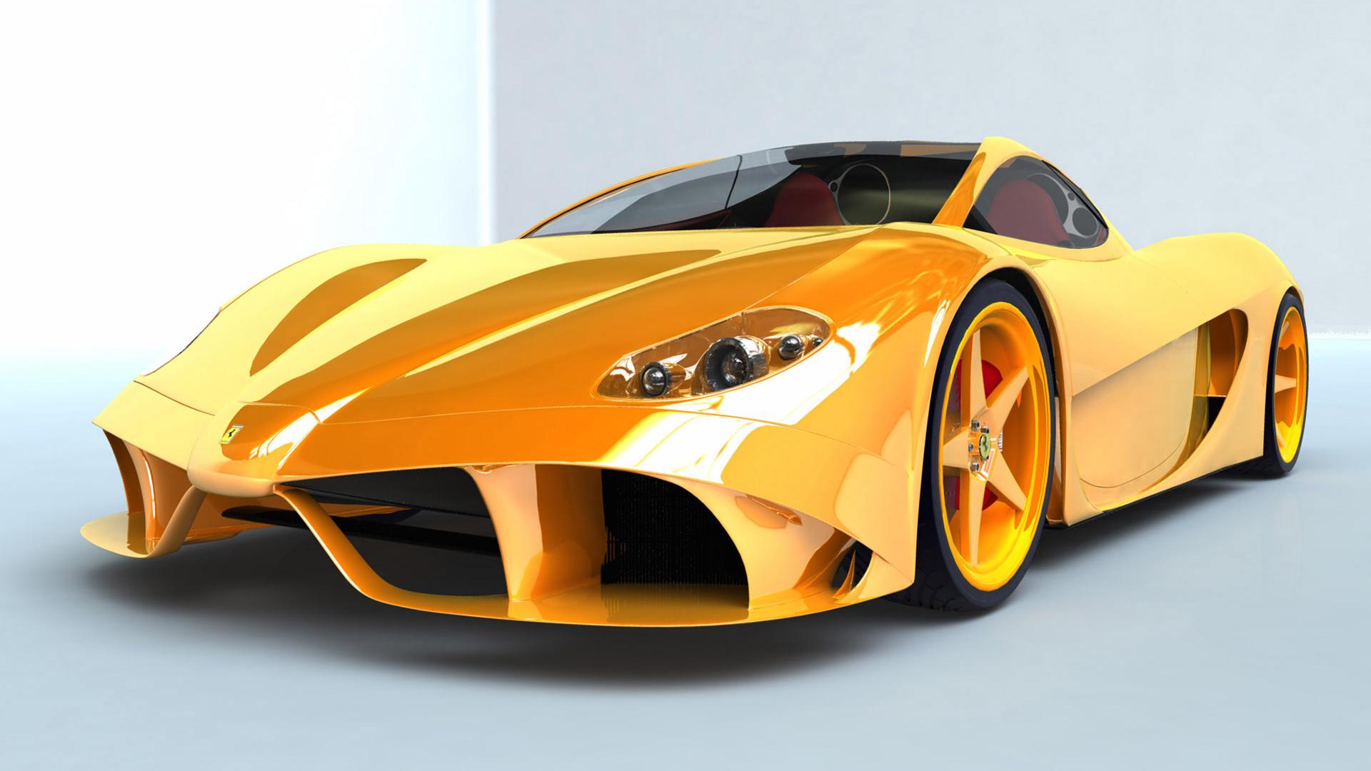 Ferrari Car Wallpaper Images Car Wallpapers Yellow Ferrari Car Humor