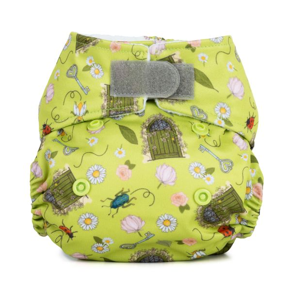 Baba+Boo Secret Garden Newborn Reusable Nappy