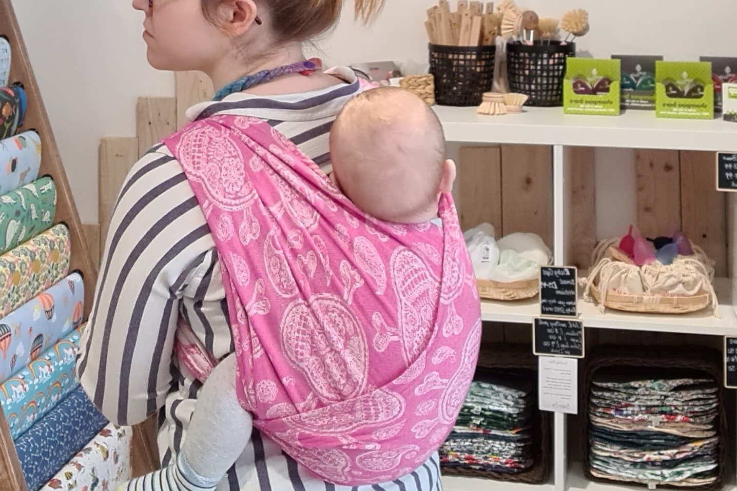 back carry derby sling library