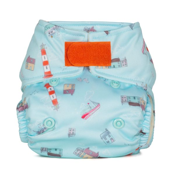 Baba+Boo Harbour Newborn Reusable Nappy