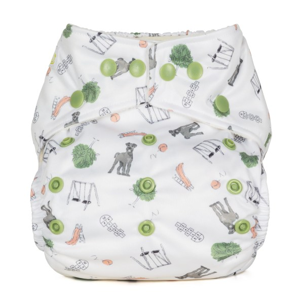 Baba+Boo Outdoor Play One Size Reusable Nappy