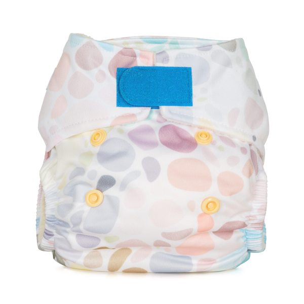 Baba+Boo Pebbles Newborn Reusable Nappy