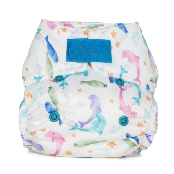 Baba+Boo Sea Life Newborn Reusable Nappy