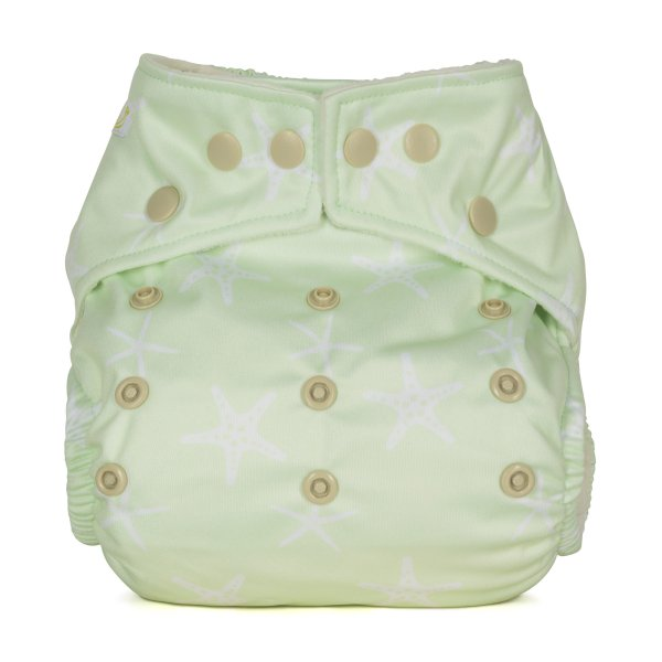 Baba+Boo Starfish One Size Reusable Nappy