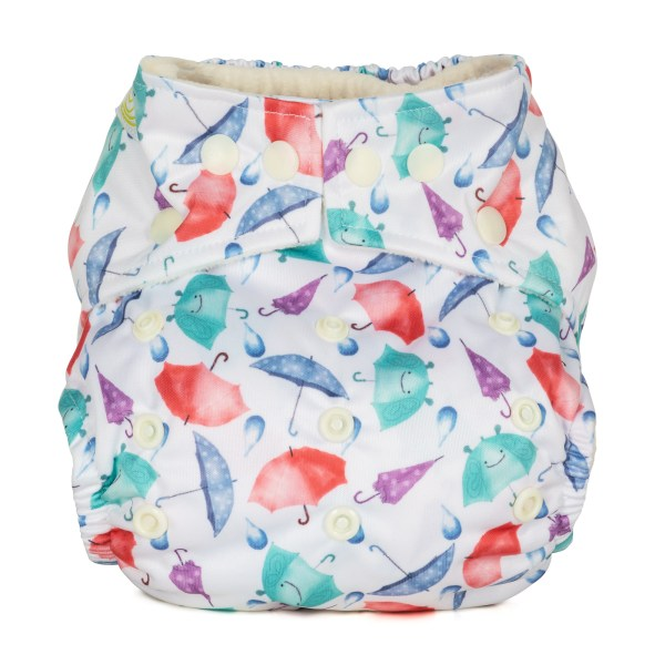 Baba+Boo Umbrellas One Size Reusable Nappy