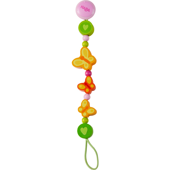 butterflies multicolour dummy clip