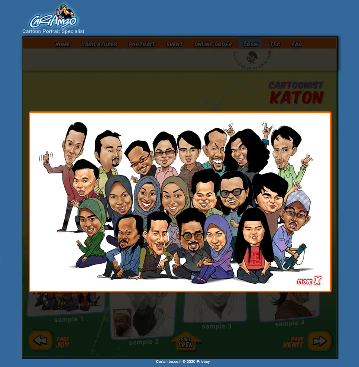no 1 caricatures digital