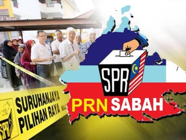 Calon PRN Sabah 2020 Blok Kerajaan (Perikatan Nasional) dan Blok Pembangkang (Warisan & Pakatan Harapan)