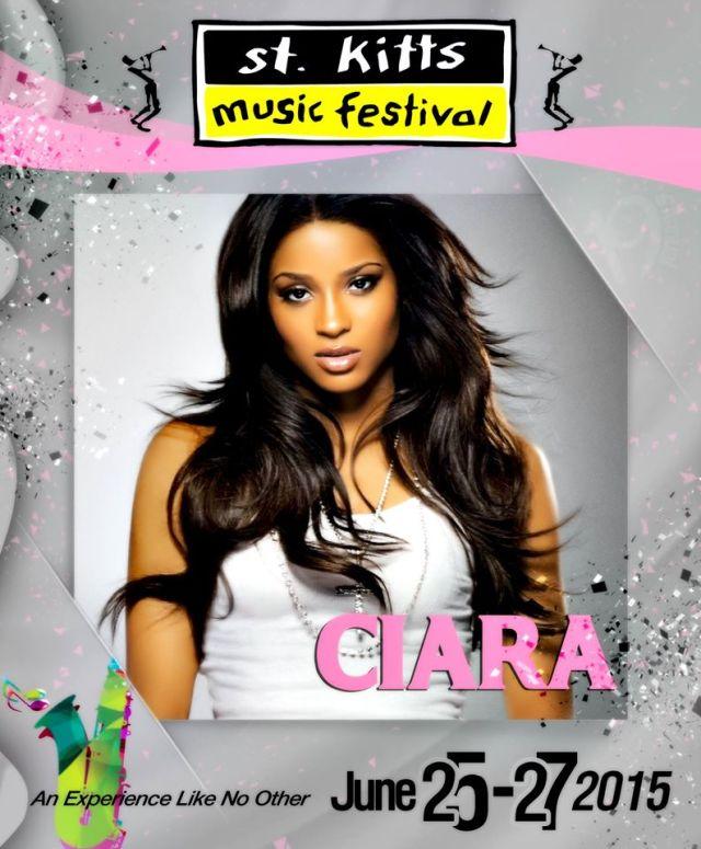 Ciara confirmed for St. Kitts Music Festival