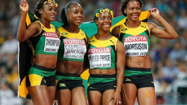 Women's 4x100m Relay In Beijing Sees Places Going To Two Caribbean Countries.