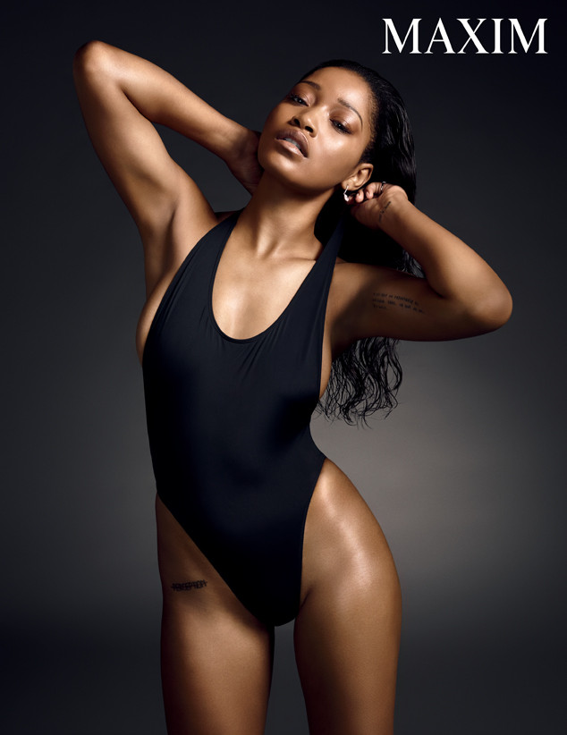 KeKe Palmer Gets Super Sexy For Maxim Magazine
