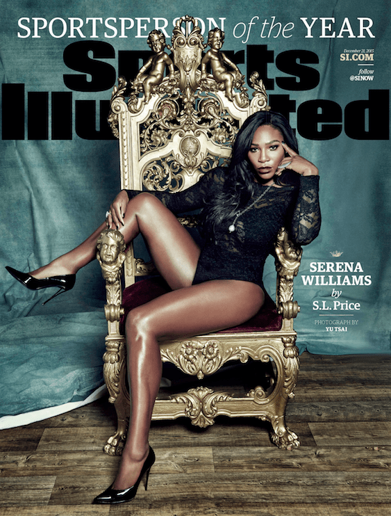 The Queen Serena Williams Stuns On The Cover Of Sports Illustrated And Is Named Sportsperson Of The Year