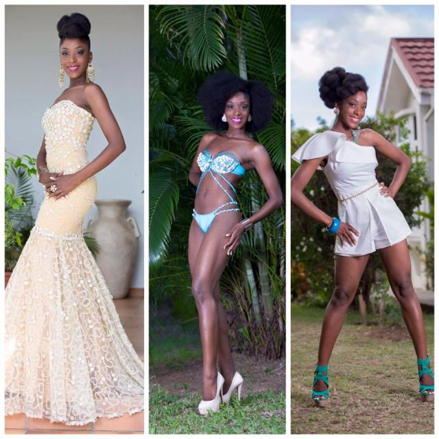 Tassia Floissac Has Been Crowned As Miss Dominica 2016