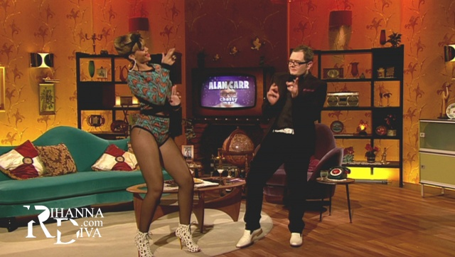 Dancehall moves with Bad Gal RiRi