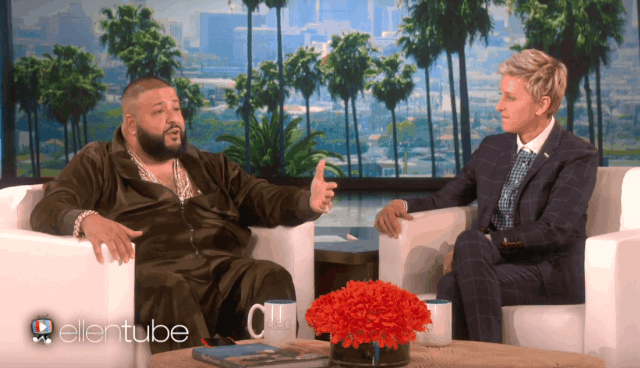 "DJ Khaled Finally Explains Who ""They"" Are On The Ellen Show"