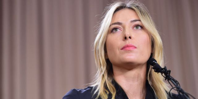 World's Highest Earning Female Athlete, Maria Sharapova, Fails Drug Test
