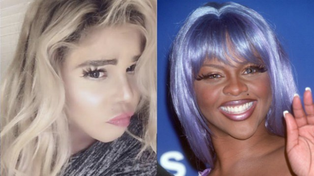 Lil Kim's Latest Transformation: Where is Lil Kim and WHAT have you done with her face!?