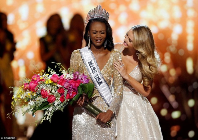 Miss D.C., A 26 Year Old Army Officer, IT Analyst And MELANIN GODDESS, Takes Home The Miss USA Pageant