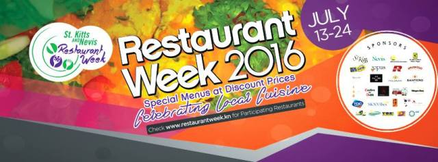 Local Pumpkin Stars St. Kitts Nevis Restaurant Week 2016