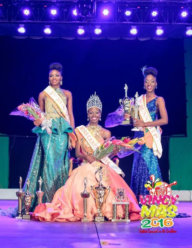 Trinidad & Tobago Wins Miss Carival 2016