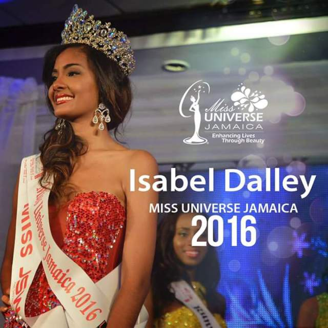 Isabel Dalley Crowned Miss Jamaica Universe