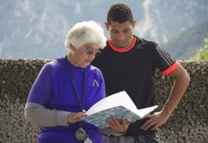Family ties; Wayde van Niekerk with his coach who also happens to be his great-grandmother. Family certainly seems to know best after Van Niekerk wins gold and smashes michael johnson's 400 meter world record at the Rio 2016 Olympic games.