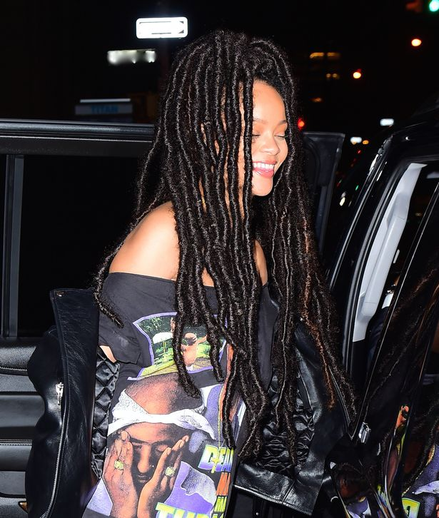 Rihanna Rocks Chunky Dreadlocks And We Can't Get Enough Of It