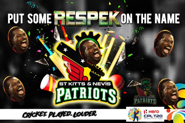 Chris Gayle FINALLY joins St. Kitts-Nevis Patriots CPL Franchise