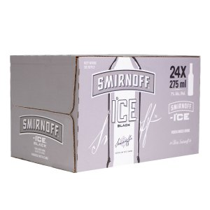 Smirnoff Ice Black 24 pack