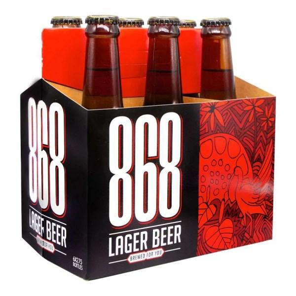 868 Lager 6 Pack