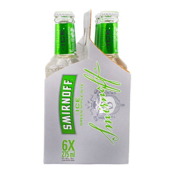Smirnoff Ice Green Apple 6 Pack