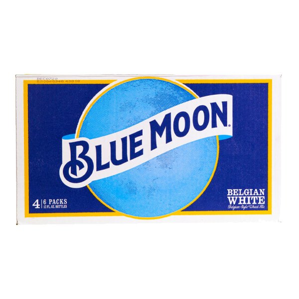 Blue Moon Belgian White 4x6 Pack