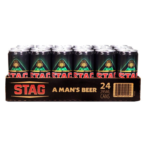 Stag Lager Can 24 Case