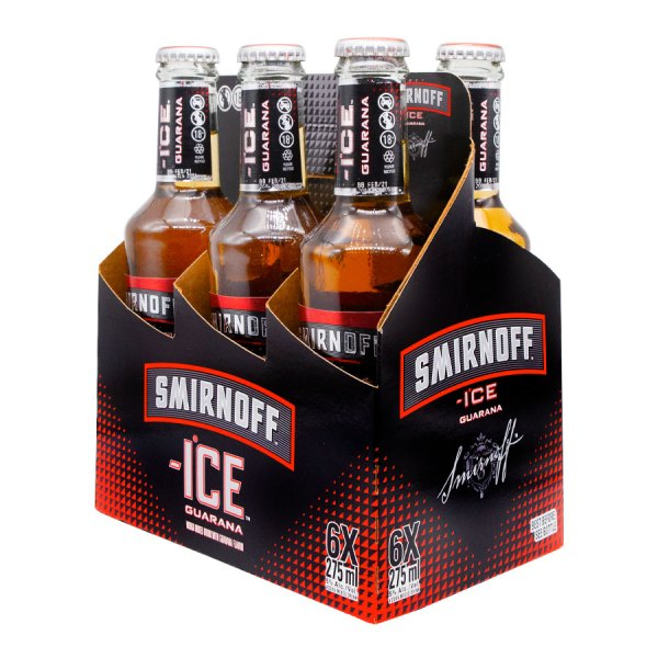 Smirnoff Ice Guarana 6 Pack