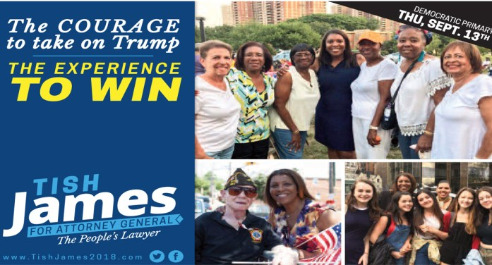 Tish James & Governor Andrew Cuomo: The Right Choices