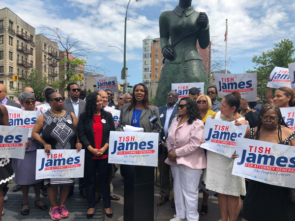 """Attorney General Candidate Letitia """"Tish"""" James Hosts Gun Violence Prevention Roundtable on Long Island"""