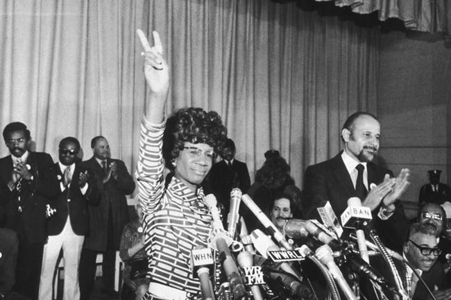 US Congress resolution honoring Shirley Chisholm