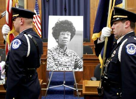 New York to erect statue to first black congresswoman