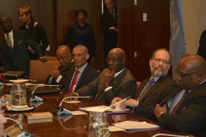 CARICOM Pappyshow at the UN