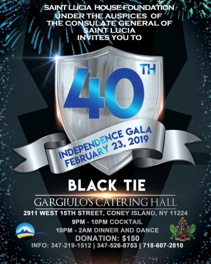 Saint Lucia 40th Independence Gala