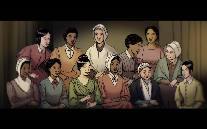 BLACK & WOMEN'S HISTORY MONTHS: 'Sisters in Freedom' Spotlights Trailblazing Female Abolitionists