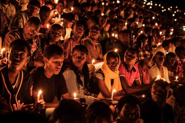 Rwanda genocide: Nation marks 25 years since mass slaughter
