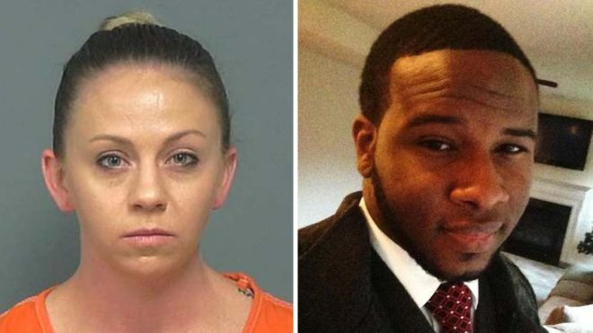 Amber Guyger: US ex-cop who killed neighbour found guilty