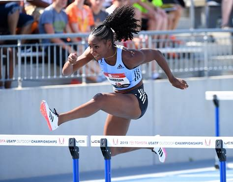 World-Record Holder Keni Harrison Focused On 60m Hurdles in 113th NYRR Millrose Games