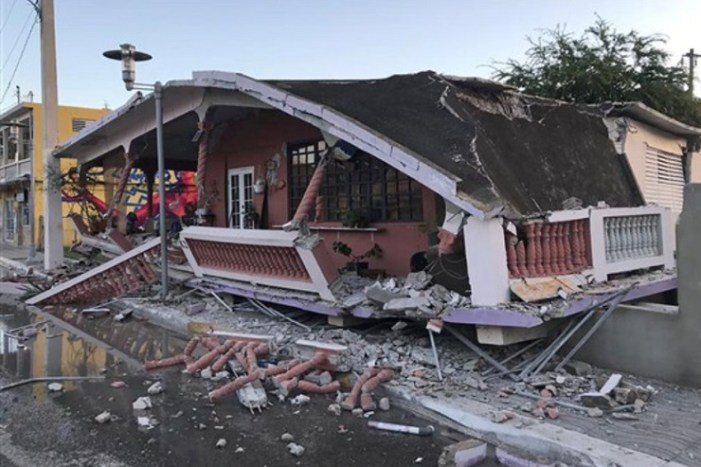 Caribbean Warned As 6.4 Magnitude Quake Hits Puerto Rico, Killing At Least One and Triggering State of Emergency