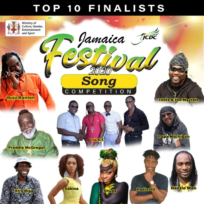 Jamaica Festival Song Competition 2020