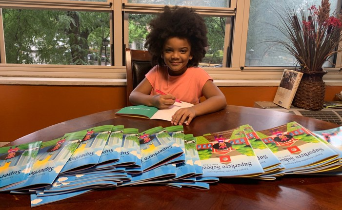Five year-old-author Writes 3 Books During the Pandemic